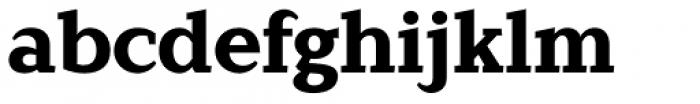 Lagu Serif Extra Bold Font LOWERCASE