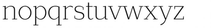 Lagu Serif Extra Light Font LOWERCASE