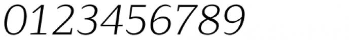 Lagu Serif Light Italic Font OTHER CHARS