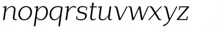 Lagu Serif Light Italic Font LOWERCASE
