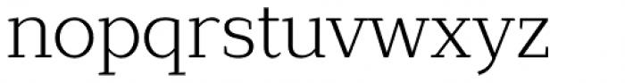 Lagu Serif Light Font LOWERCASE