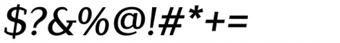 Lagu Serif Medium Italic Font OTHER CHARS