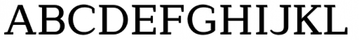 Lagu Serif Medium Font UPPERCASE
