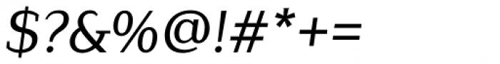 Lagu Serif Regular Italic Font OTHER CHARS