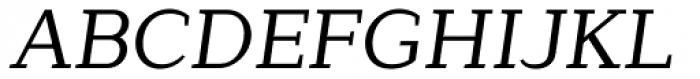 Lagu Serif Regular Italic Font UPPERCASE