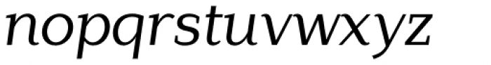 Lagu Serif Regular Italic Font LOWERCASE