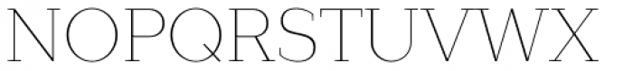 Lagu Serif Thin Font UPPERCASE