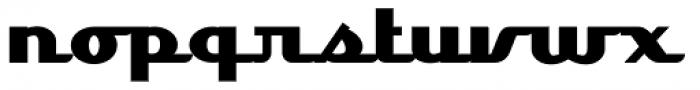 Lakeshore Drive NF Font LOWERCASE