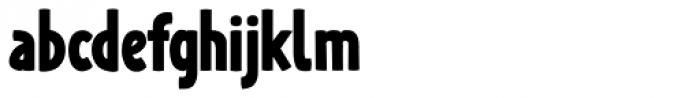Lalalo ExtraBold Font LOWERCASE