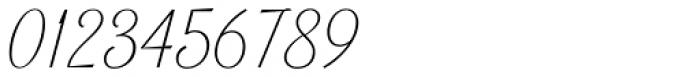 Lambo Thin Font OTHER CHARS