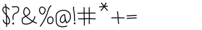 Lamiar Regular Font OTHER CHARS
