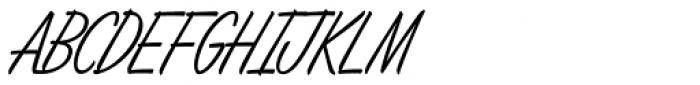 Lamplighter Script Font UPPERCASE