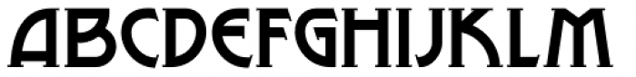 Lance Corporal NF Font LOWERCASE