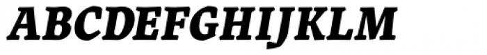 Landa Extra Bold Italic Font UPPERCASE