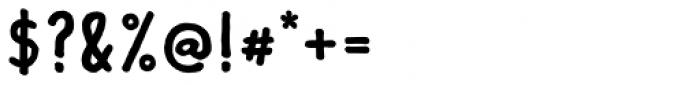 Lando Serif Bold Font OTHER CHARS