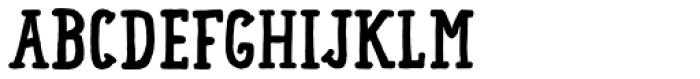 Lando Serif Bold Font LOWERCASE