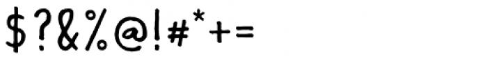 Lando Serif Font OTHER CHARS