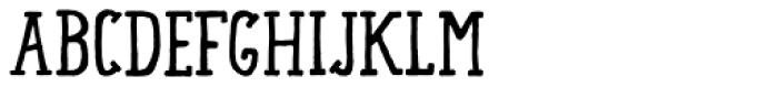 Lando Serif Font LOWERCASE