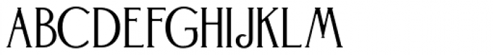 Landsdowne Commercial Bold Font UPPERCASE