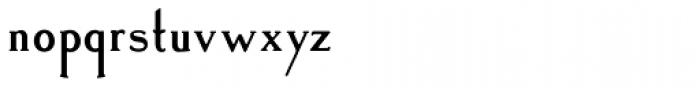 Landsdowne Commercial Bold Font LOWERCASE