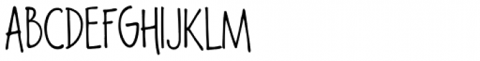 Lango Px Thin Font UPPERCASE