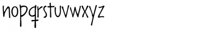 Lango Px Thin Font LOWERCASE
