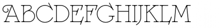 Langoustine Rouge NF Font UPPERCASE