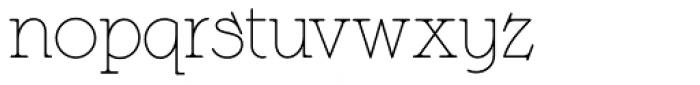 Langoustine Rouge NF Font LOWERCASE