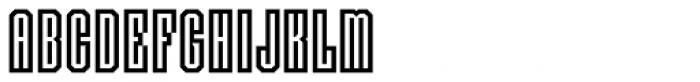 Langston Font UPPERCASE