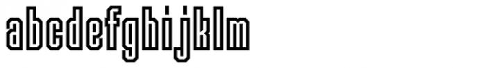 Langston Font LOWERCASE