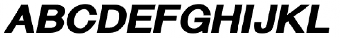 Langton Ultra Italic Font UPPERCASE