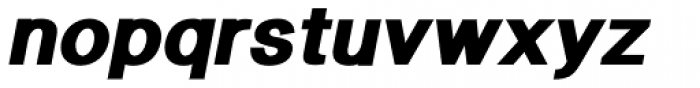 Langton Ultra Italic Font LOWERCASE