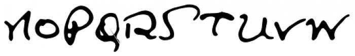 Lanier SC Font UPPERCASE