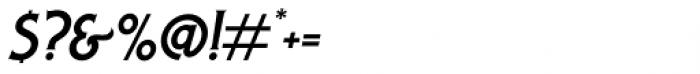 Lansdowne Slanted Font OTHER CHARS