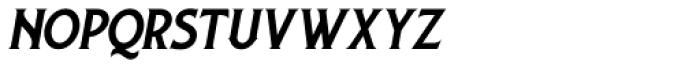 Lansdowne Slanted Font LOWERCASE