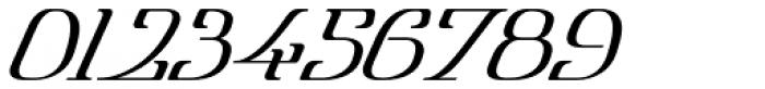 Lanvier Double Oblique Font OTHER CHARS
