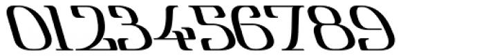 Lanvier Reverse Oblique Bold Font OTHER CHARS
