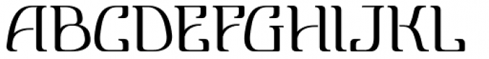 Lanvier Font UPPERCASE