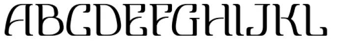 Lanvier Font LOWERCASE