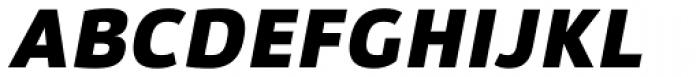 Lanz Black Italic Font UPPERCASE