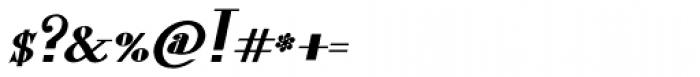 Lanzelott Bold Italic Font OTHER CHARS