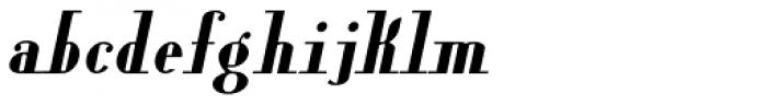 Lanzelott Bold Italic Font LOWERCASE