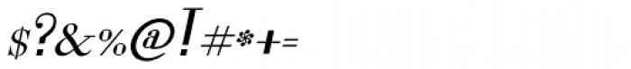 Lanzelott Italic Font OTHER CHARS