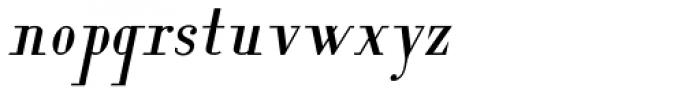 Lanzelott Italic Font LOWERCASE