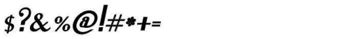 Lanzelott San Serif Bold Italic Font OTHER CHARS