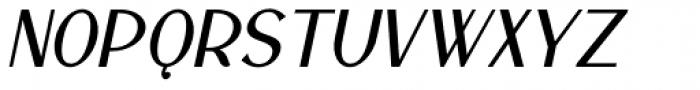 Lanzelott San Serif Bold Italic Font UPPERCASE