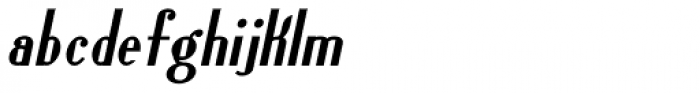 Lanzelott San Serif Bold Italic Font LOWERCASE
