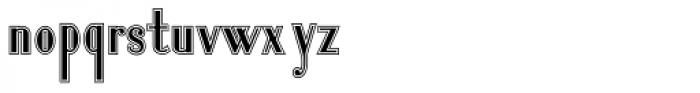 Lanzelott San Serif College Font LOWERCASE
