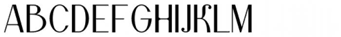 Lanzelott San Serif Font UPPERCASE