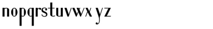 Lanzelott San Serif Font LOWERCASE